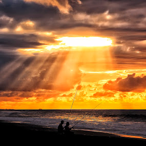 the rays by Bigg Shangkhala - Landscapes Sunsets & Sunrises