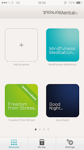 Mental Workout Fitness app screenshot for Android