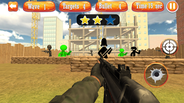Stickman Shoot Survival Range apk screenshot