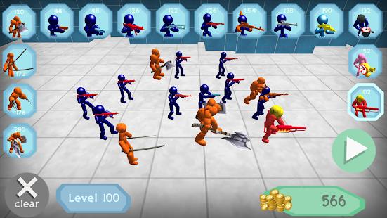 Stickman Spiders Battle Simulator for pc