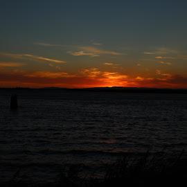 Sunset 7-5-2015 by Camille Spicer - Landscapes Sunsets & Sunrises