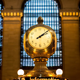 Grand Central Terminal by Angel Rizov - Buildings & Architecture Public & Historical ( terminal, grand, clock, new york, central )