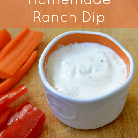 Ranch Dressing with Greek Yogurt