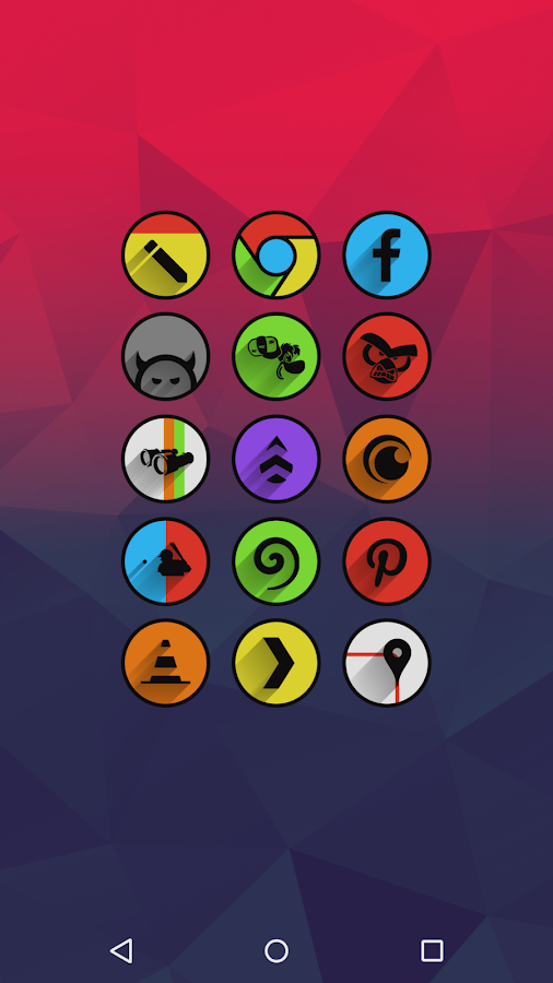 Umbra - Icon Pack Screenshot 1