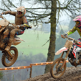 Fly Away by Marco Bertamé - Sports & Fitness Motorsports ( following, motocross, fly, duel, jump )