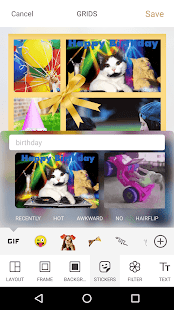 Photo Collage: Video Collage & GIF Sticker