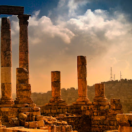 Jerash by Stanley P. - Buildings & Architecture Public & Historical
