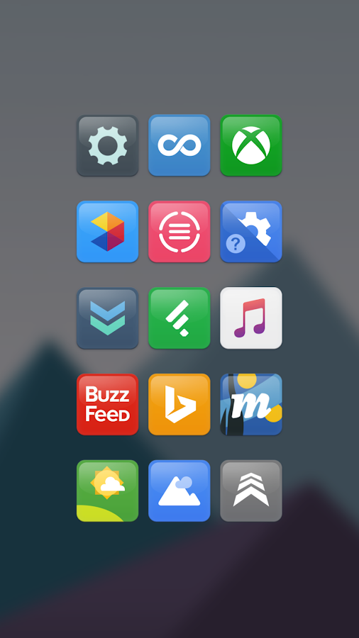 Horizon Icon Pack Screenshot 2