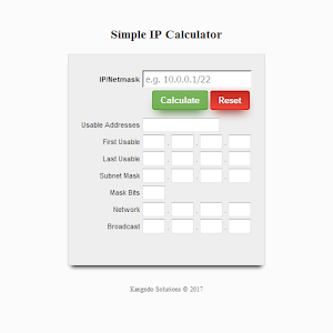 Download Simple IP Subnet Calculator For PC Windows and Mac