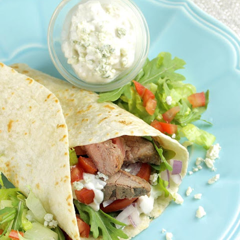 BLeu Cheese Steak Wraps