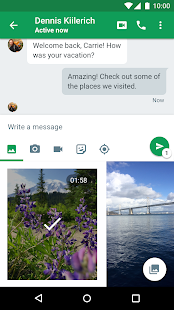 Hangouts APK for Bluestacks