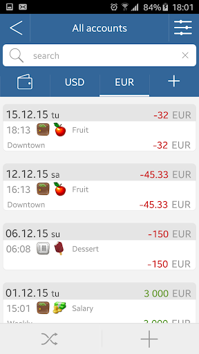 My Wallets - screenshot