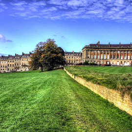 Royal Crescent, Bath, UK by Charles Ong - City,  Street & Park  City Parks