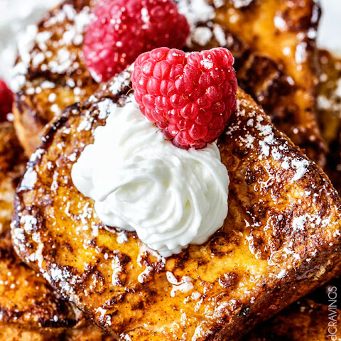Pumpkin Angel Food Cake French Toast