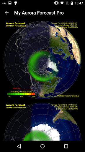 My Aurora Forecast Pro - screenshot