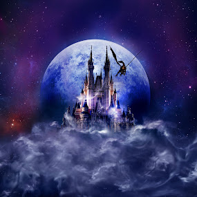Dream castle 3 by Sergey Sokolov - Illustration Sci Fi & Fantasy ( fantasy digital art abstract )