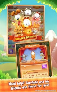Garfield Chef: Match 3 Puzzle- screenshot thumbnail