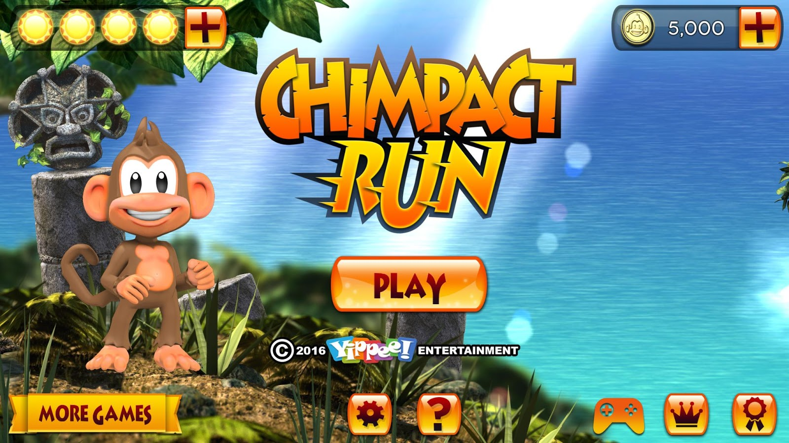 Chimpact Run (Pay Once No-IAP) Screenshot 7