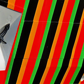 Razzle Dazzle by John Harbach - Abstract Patterns ( dazzle, ship, liverpool, stripe, anchor )