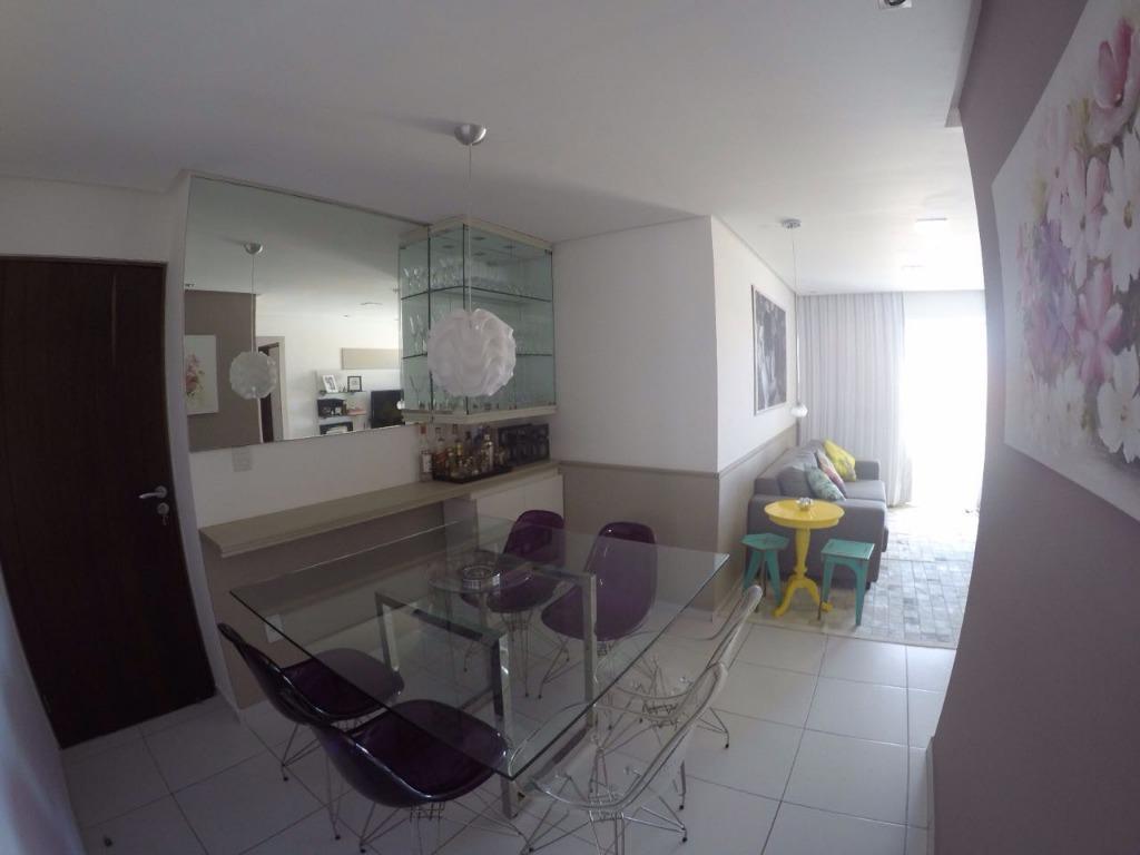 Apartamento projetado em Intermares