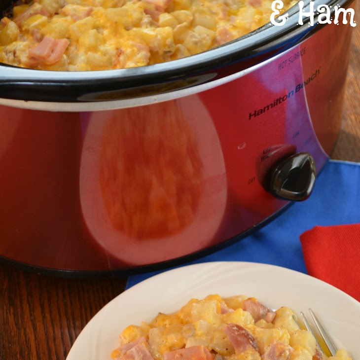 cheesy ham and hash brown casserole lovefoodies cheesy ham and hash ...