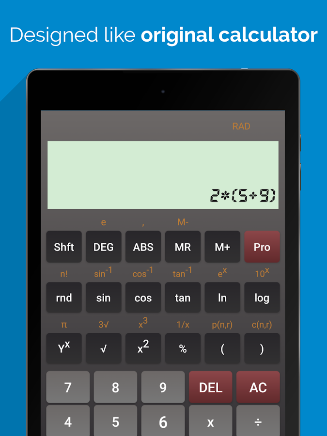 Scientific Calculator Pro Screenshot 3