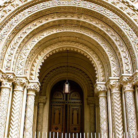 Arches by Dan Mazzucco - Buildings & Architecture Other Exteriors ( building, church, arches, white, philadelphia )