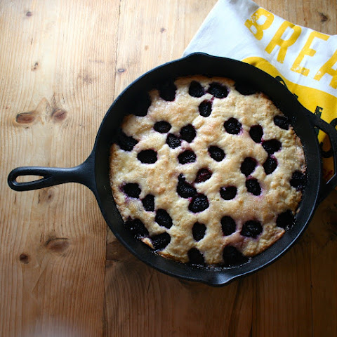 Blackberry Buttermilk Breakfast Cake