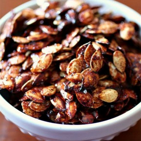 Sweet Salty Roasted Pumpkin Seeds