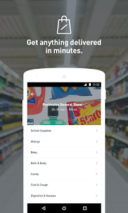 App Postmates: Food Delivery, Fast 3.6.11 APK for iPhone