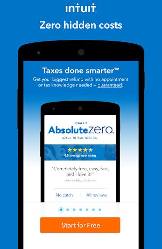 TurboTax Tax Return App For PC