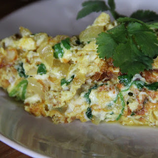 Super-restorative & Nourishing Indian-style Omelette