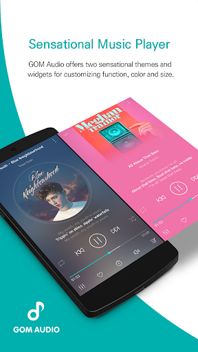 GOM Audio - Music, Sync lyrics, Podcast, Streaming screenshot 1