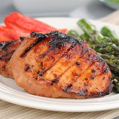 Southern Sweet Grilled Pork Chops