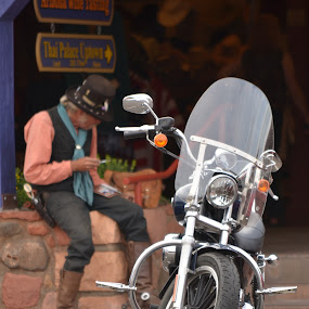 by Fadel Alhayki - Transportation Motorcycles