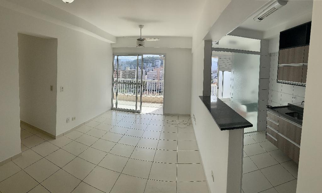 Apartamento com 3 dormitórios à venda, 93 m² por R$ 510.000,00 - Encruzilhada - Santos/SP