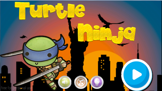 Ninja Turtles Runner - screenshot