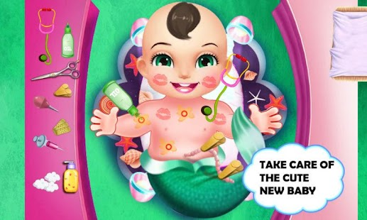 Princess Mermaid New Baby- screenshot thumbnail