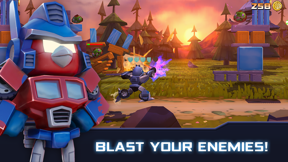 Angry Birds Transformers Screenshot 0