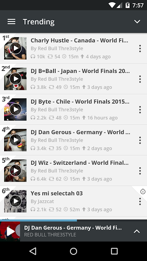 Radio & mix dei DJ