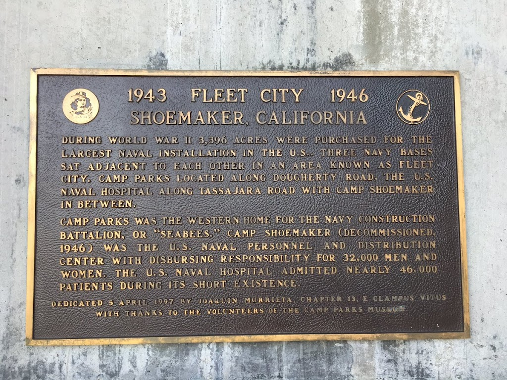 1943 FLEET CITY 1946SHOEMAKER, CALIFORNIA DURING WORLD WAR II, 3,396 ACRES WERE PURCHASED FOR THE LARGEST NAVAL INSTALLATION IN THE U.S.. THREE NAVY BASES SAT ADJACENT TO EACH OTHER IN AN AREA KNOWN ...