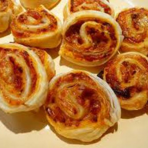Pizza Pinwheels Appetizer