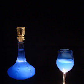 Light Blue. by Chris Bowerbank - Novices Only Objects & Still Life