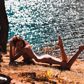 020 by Andrey Kels - Nudes & Boudoir Artistic Nude ( model, nude, mountain, fitness, sports, sport, lake, erotic, sexy, mountains, girl, modeling, sportbody, altay )