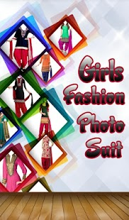 Girls Fashion Photo Suit - screenshot