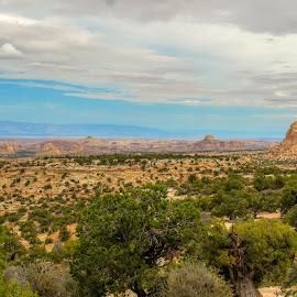 In the distance... by Jim Talbert - City,  Street & Park  Vistas ( sky, hdr, nature, color, utah, landscape, landscapes,  )