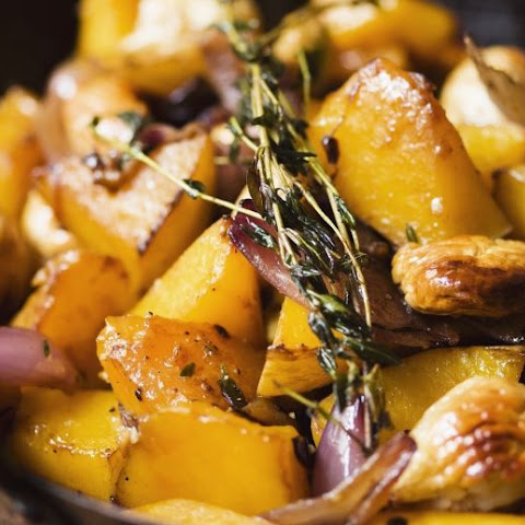 Pumpkin, Chestnuts and Onions