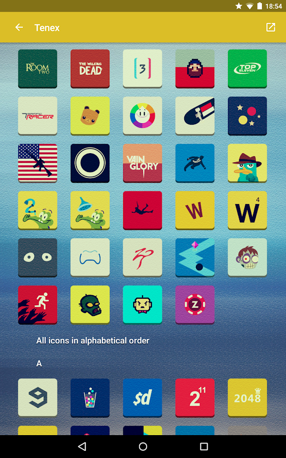 Tenex - Icon Pack Screenshot 9