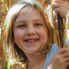 Farm Girl by Morne Kotze - Babies & Children Child Portraits ( child portrait, portrait,  )