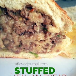 Stuffed Italian Bread With Ground Beef Recipes